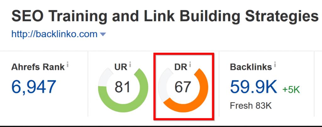 Backlink đến từ những site có độ trust cao