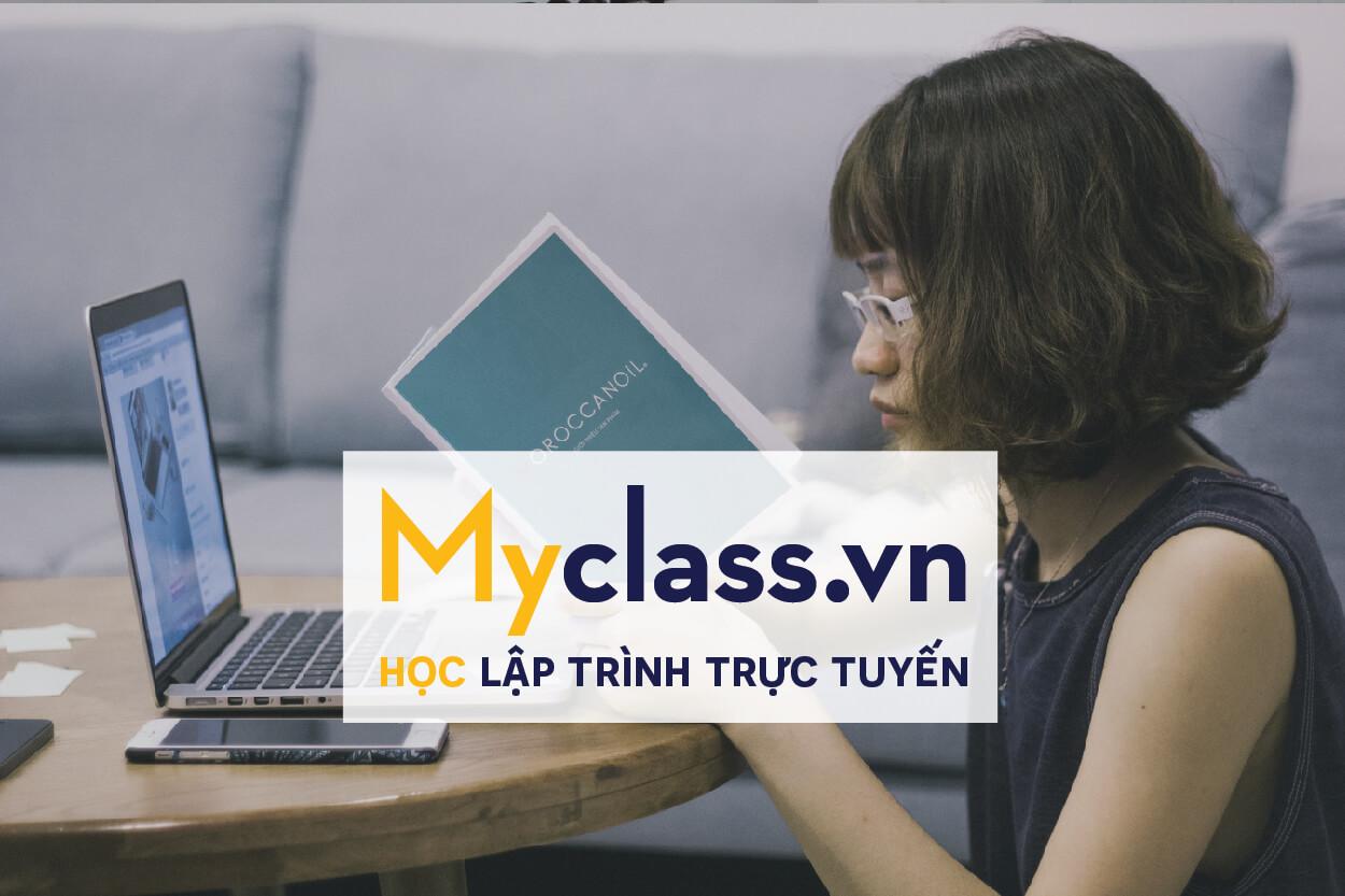 Myclass đang trở thành một website học lập trình java trực tuyến hàng đầu