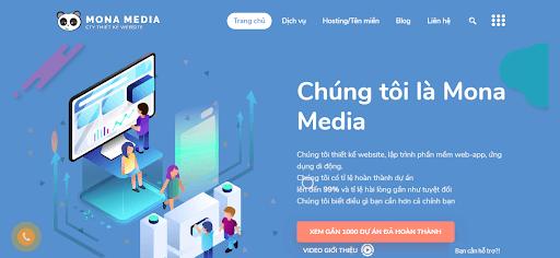 Công ty lập trình phần mềm chuyên nghiệp Mona Media