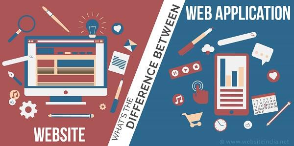 Khác nhau website và web app